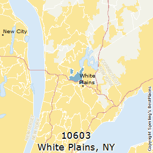 White_Plains,New York County Map