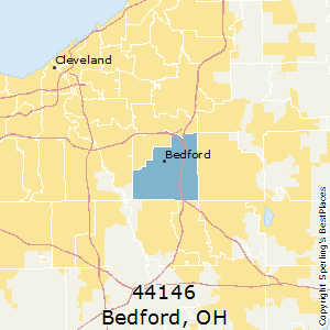 Bedford,Ohio County Map