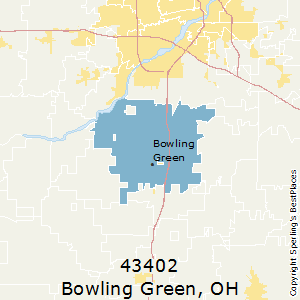Bowling Green Zip Code Map.Best Places To Live In Bowling Green Zip 43402 Ohio