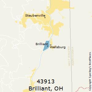 Brilliant Ohio Map.Best Places To Live In Brilliant Zip 43913 Ohio