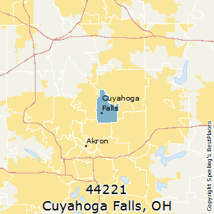 Best Places to Live in Cuyahoga Falls (zip 44221), Ohio