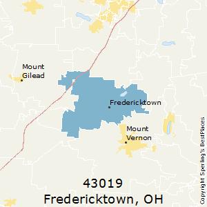 Fredericktown ohio zip code