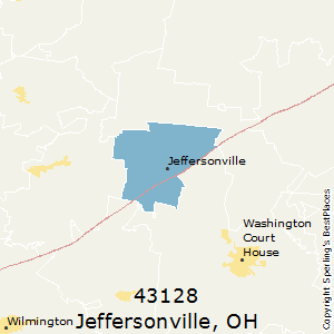Jeffersonville Ohio Map.Best Places To Live In Jeffersonville Zip 43128 Ohio