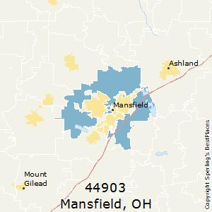 Mansfield Ohio Zip Code Map.Best Places To Live In Mansfield Zip 44903 Ohio
