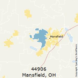 Mansfield Ohio Zip Code Map.Best Places To Live In Mansfield Zip 44906 Ohio