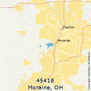 Moraine Ohio Map.Best Places To Live In Moraine Zip 45418 Ohio