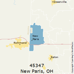 New Paris Ohio Map.Best Places To Live In New Paris Zip 45347 Ohio