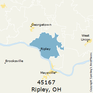 Ripley Ohio Map.Best Places To Live In Ripley Zip 45167 Ohio