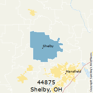 Mansfield Ohio Zip Code Map.Best Places To Live In Shelby Zip 44875 Ohio