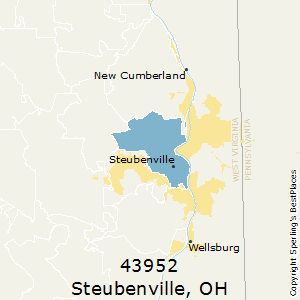 steubenville oh zip code map Best Places To Live In Steubenville Zip 43952 Ohio