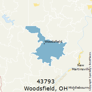 Woodsfield Ohio Map.Best Places To Live In Woodsfield Zip 43793 Ohio
