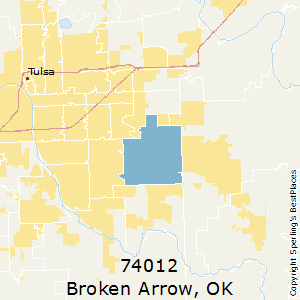Best Places To Live In Broken Arrow Zip 74012 Oklahoma