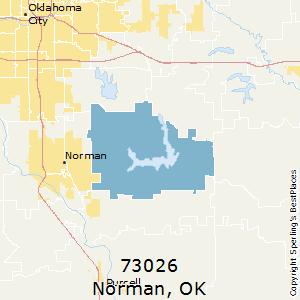 Norman Zip Code Map.Best Places To Live In Norman Zip 73026 Oklahoma