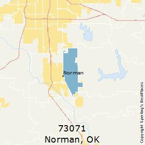 Norman Zip Code Map.Best Places To Live In Norman Zip 73071 Oklahoma