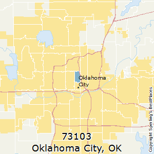 Best Places to Live in Oklahoma City (zip 73103), Oklahoma on