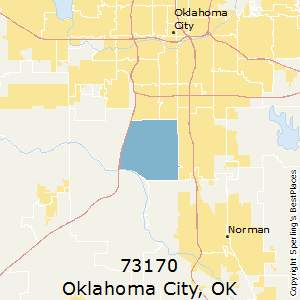 Oklahoma City Ok Zip Code Map.Best Places To Live In Oklahoma City Zip 73170 Oklahoma