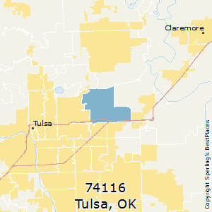 Best Places to Live in Tulsa (zip 74116), Oklahoma on