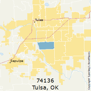 Best Places to Live in Tulsa (zip 74136), Oklahoma