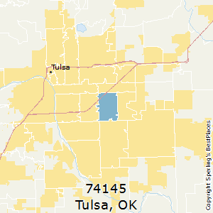 Best Places to Live in Tulsa (zip 74145), Oklahoma on tulsa bus map, zip codes by city and street map, brady district tulsa map, tulsa county map, south tulsa map, tulsa school district map, tulsa oklahoma, tulsa neighborhood map, tulsa city council district map, downtown tulsa street map, bakersfield zipcode map, gila river indian community district map, tulsa area map, tulsa subdivision map, tulsa area zip codes, broken arrow map, tulsa public schools boundary map, tulsa road map, tulsa msa map,