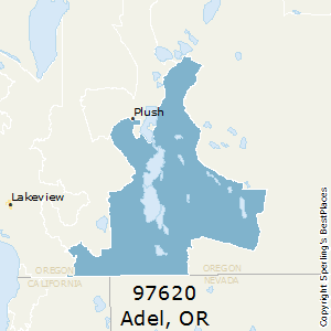 Plush Oregon Map.Best Places To Live In Adel Zip 97620 Oregon