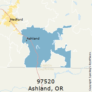 Best Places to Live in Ashland (zip 97520), Oregon