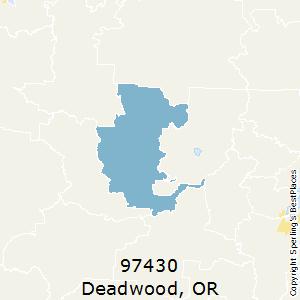 Best Places to Live in Deadwood (zip 97430), Oregon