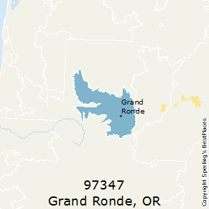 Grand Ronde Oregon Map.Best Places To Live In Grand Ronde Zip 97347 Oregon