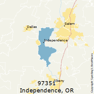Best Places to Live in Independence zip 97351 Oregon