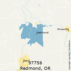 Redmond Zip Code Map.Best Places To Live In Redmond Zip 97756 Oregon