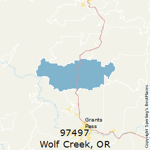 Best Places to Live in Wolf Creek (zip 97497), Oregon