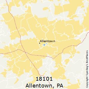 best places to live in allentown zip 18101 pennsylvania. Black Bedroom Furniture Sets. Home Design Ideas