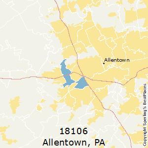 best places to live in allentown zip 18106 pennsylvania. Black Bedroom Furniture Sets. Home Design Ideas