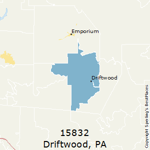 Driftwood,Pennsylvania County Map