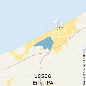 Erie,Pennsylvania(16506) Zip Code Map