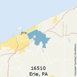 Zip Code Map Erie Pa Campus Map