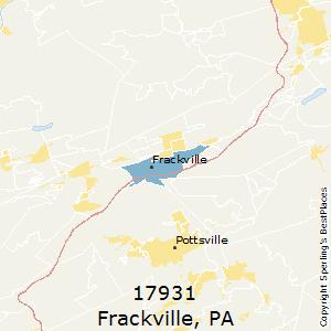 Frackville zip code