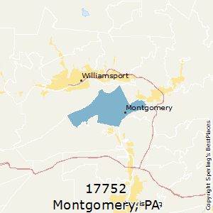 Montgomery,Pennsylvania County Map