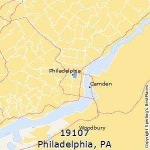 City Of Philadelphia Zip Code Map.Best Places To Live In Philadelphia Zip 19107 Pennsylvania