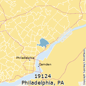 Philadelphia,Pennsylvania County Map