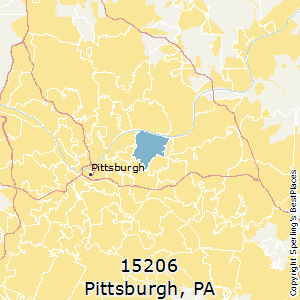 Zip Code Map Pittsburgh Pa.Best Places To Live In Pittsburgh Zip 15206 Pennsylvania
