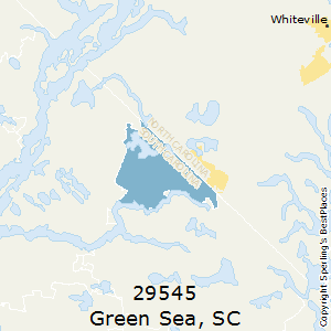 Green_Sea,South Carolina County Map