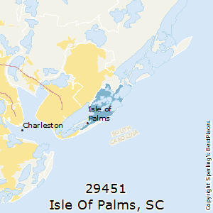 Best Places To Live In Isle Of Palms Zip South Carolina - Elevation above sea level by zip code