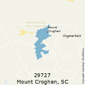 Mount_Croghan,South Carolina County Map