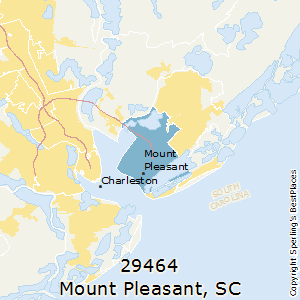 Mount_Pleasant,South Carolina County Map