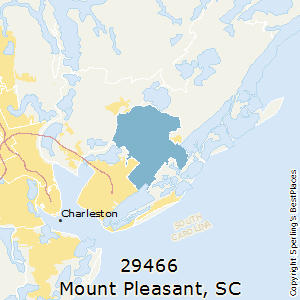 Mount Pleasant Sc Zip Code Map.Best Places To Live In Mount Pleasant Zip 29466 South Carolina