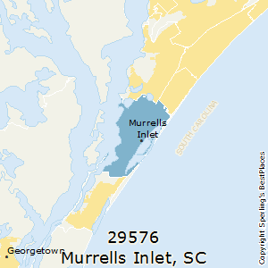 Best places to live in murrells inlet zip 29576 south carolina murrellsinletsouth carolina29576 zip code map sciox Choice Image