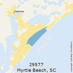Best places to live in myrtle beach zip 29577 south carolina myrtlebeachsouth carolina29577 zip code map sciox Choice Image