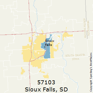 Best Places To Live In Sioux Falls Zip 57103 South Dakota