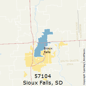 Best Places To Live In Sioux Falls Zip 57104 South Dakota