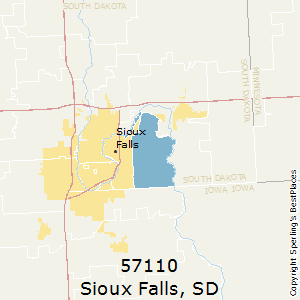 Best Places To Live In Sioux Falls Zip 57110 South Dakota